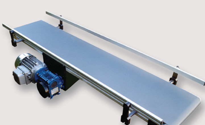 Flat Belt Conveyor with Central Drive