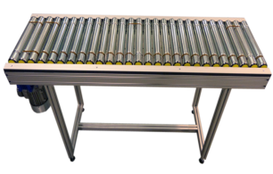 Motorized roller conveyor elcom for industry