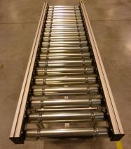 Gravity roller conveyor elcom for industry