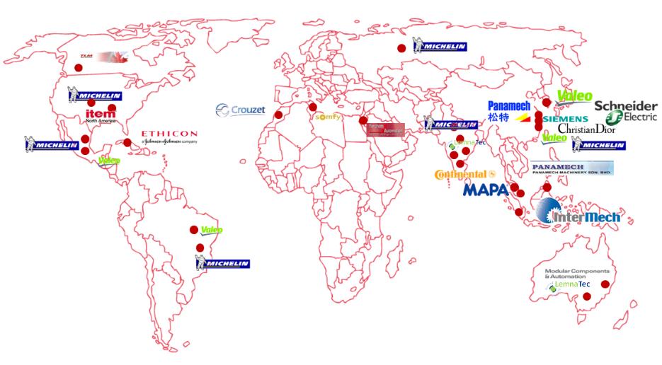 elcom worldwide Customers