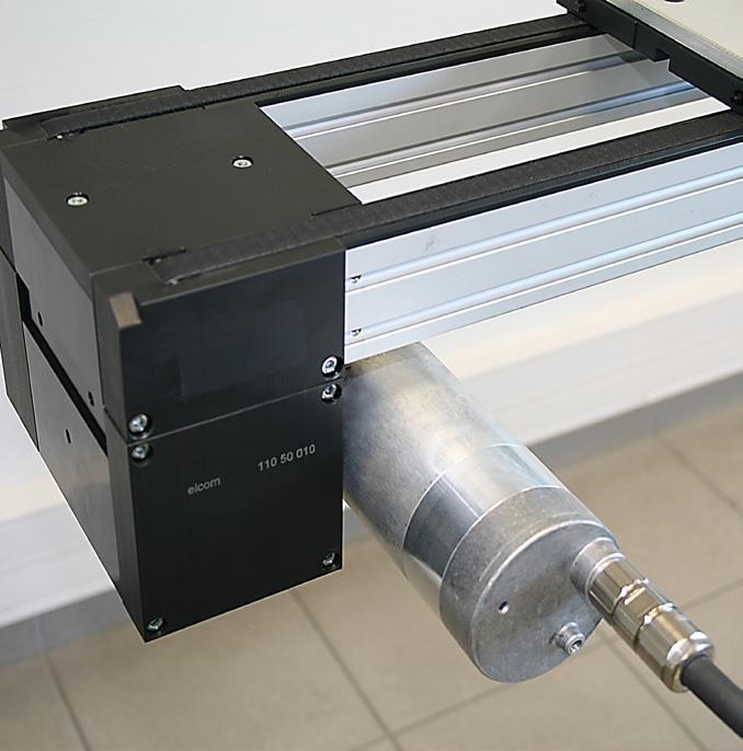 Conveying unit 24 V timing belt elcom ITS
